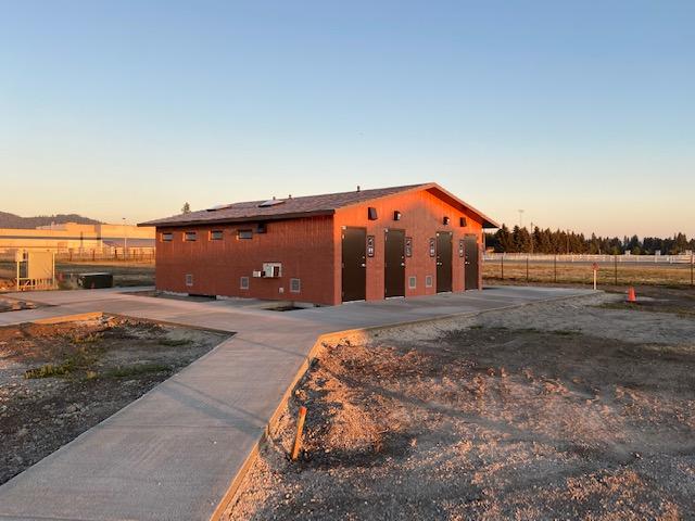 Kootenai County Fairgorunds RV Park Bathhouse