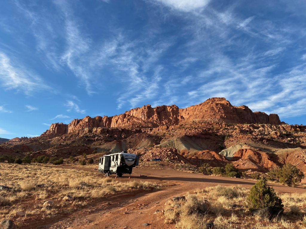 Capitol Reef Overflow Dispersed Camping